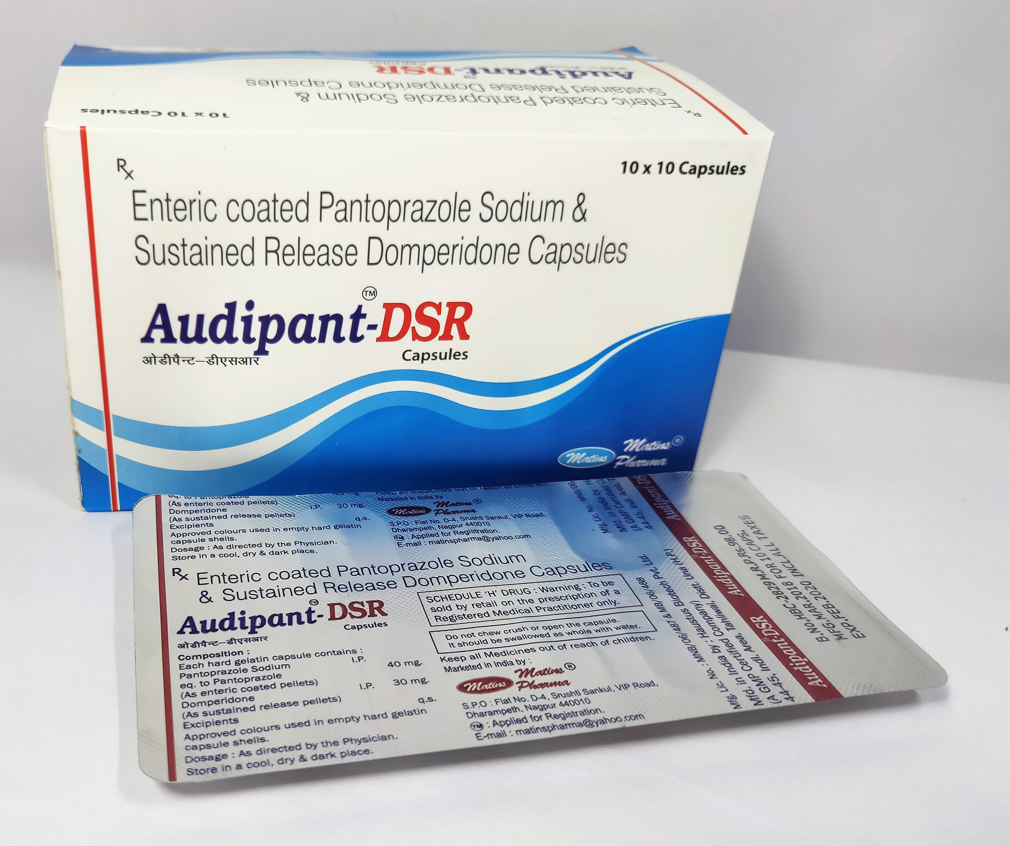 Pantoprazole in PCD Franchise