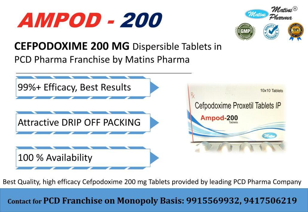 Cefpodoxime in PCD Franchise Call 9915569932