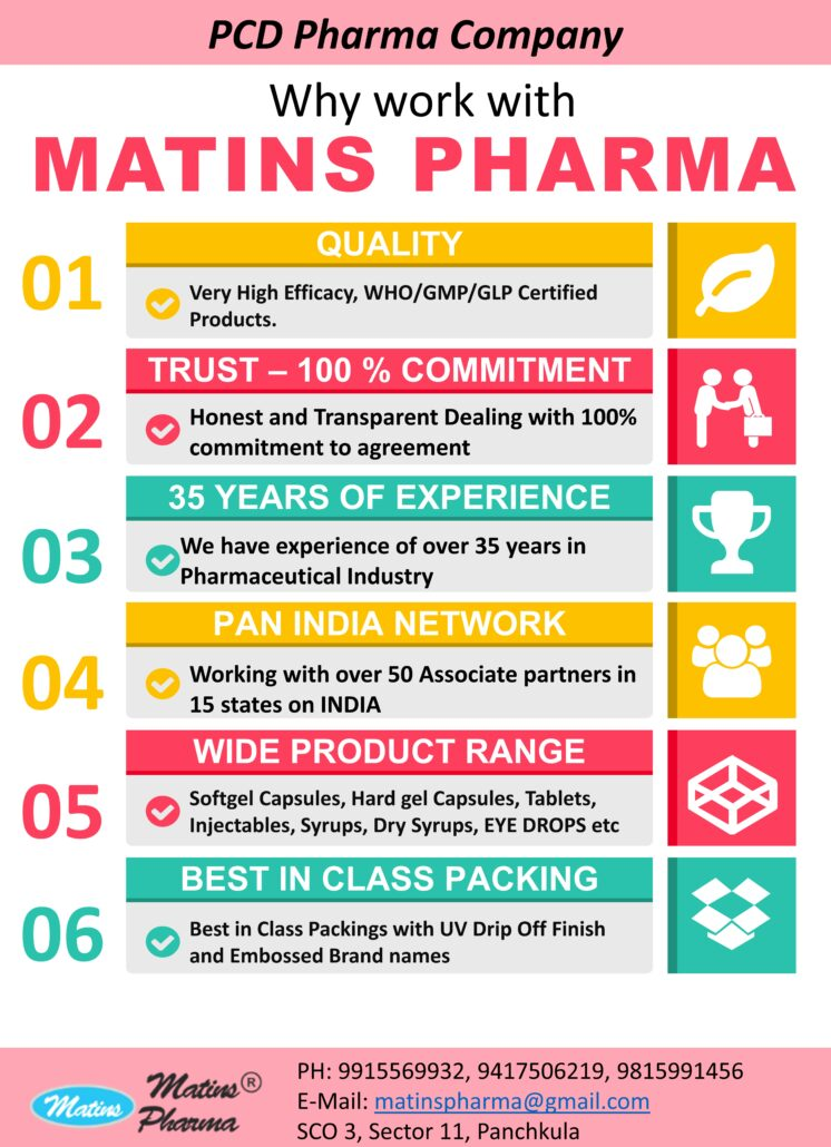 Matins Pharma is the Best PCD Franchise Company