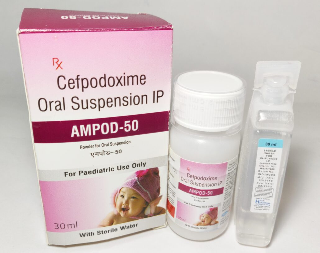 cefpodoxime in pediatric products franchise