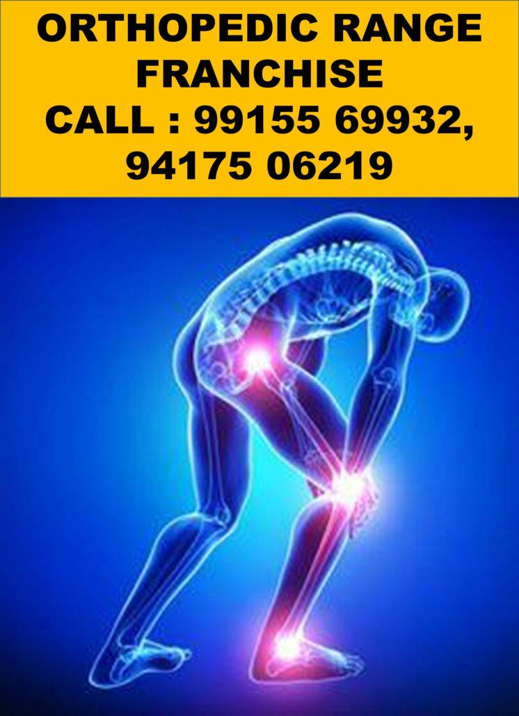 Orthopedic Range in PCD Pharma Franchise