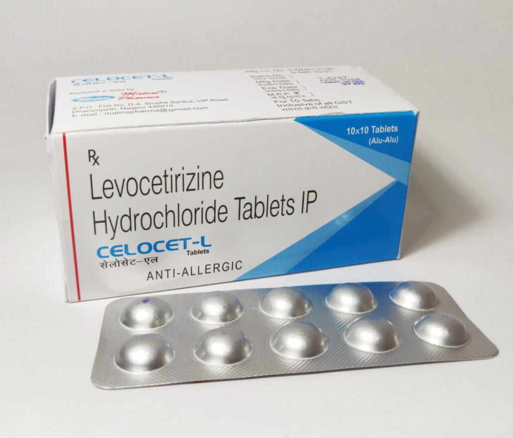 Levocetrizine in Derma Franchise