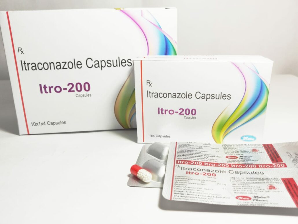 Itraconazole in Derma Franchise