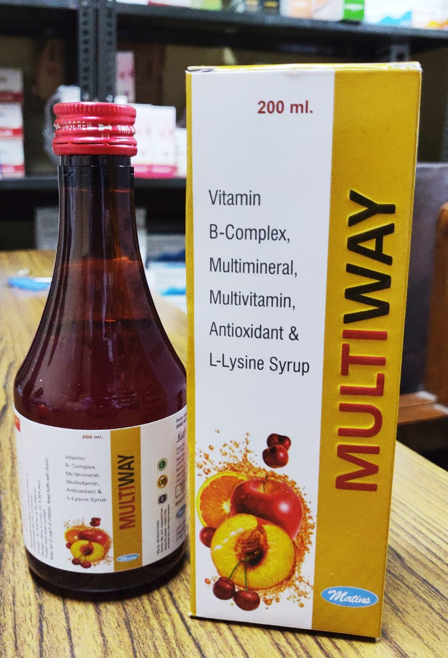 Multivitamin Syrup in PCD Pharma Franchise