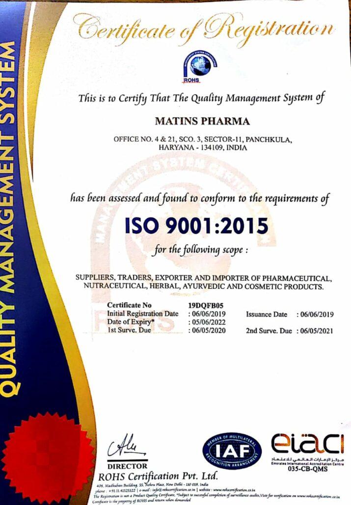 ISO Certified PCD Company