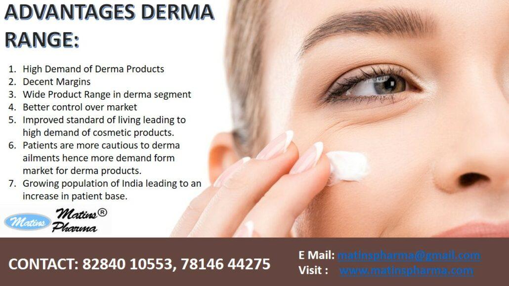 Advantages of Derma Range Franchise