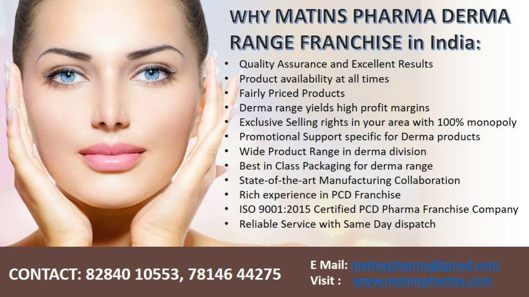 Matins Pharma Derma Franchise