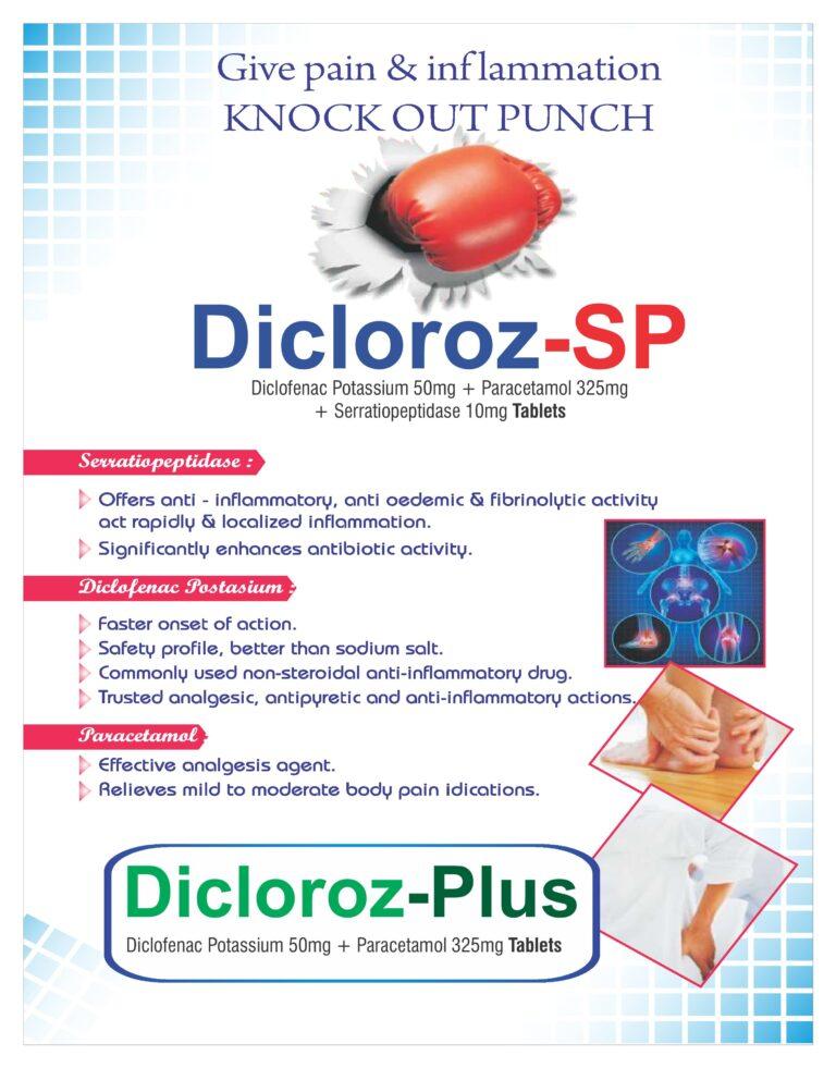 Diclofenac Visual aid