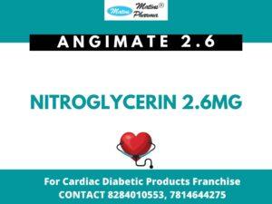 Nitroglycerin 2.6mg in PCD Pharma Franchise